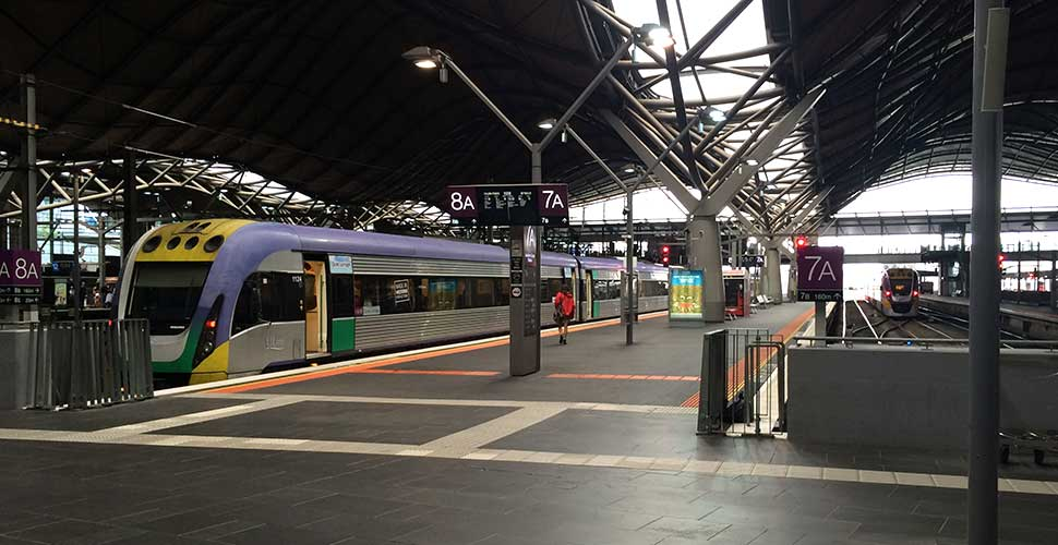 Free V/Line train travel this week